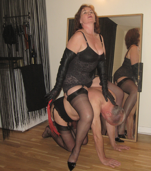 Blonde german mistresses whip slave silly 2
